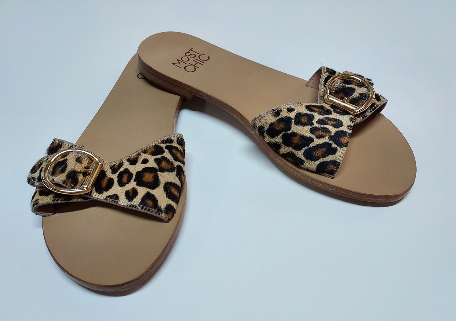 MOST CHIC Sandals Scarlet star (leopard)