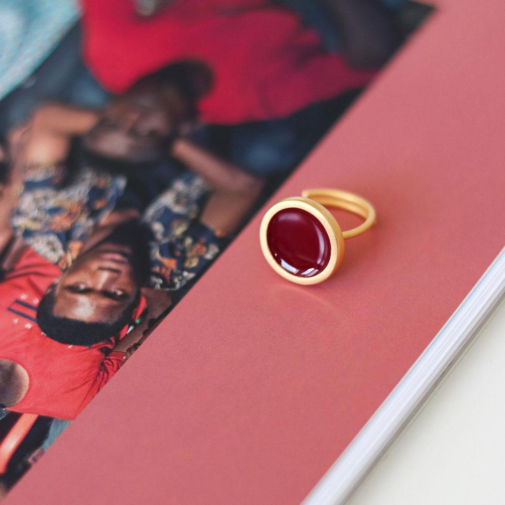 ΠΡΙΓΚΙΠΩ Palette S δαχτυλίδι χρυσό
