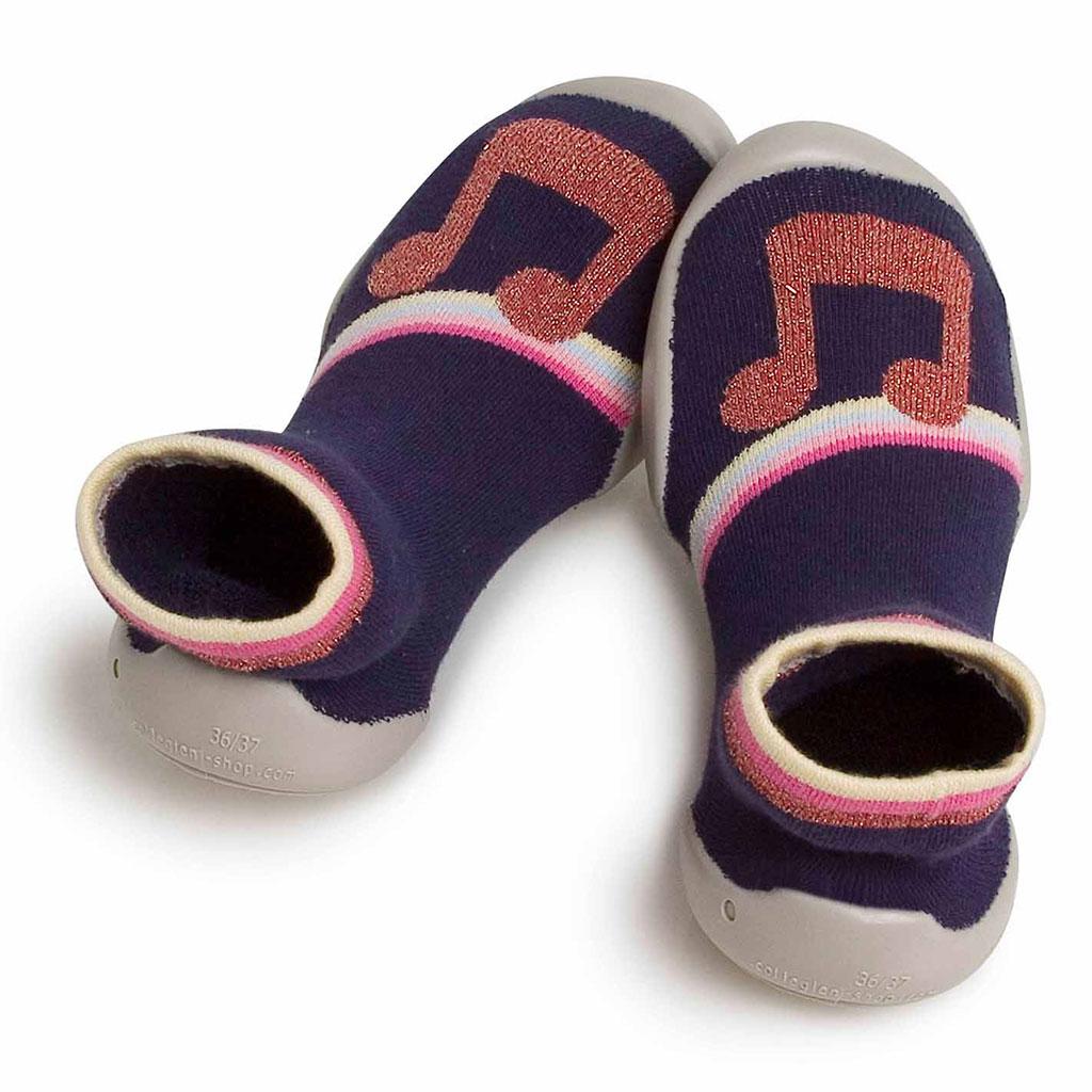 COLLEGIEN Sock-slippers Let's dance
